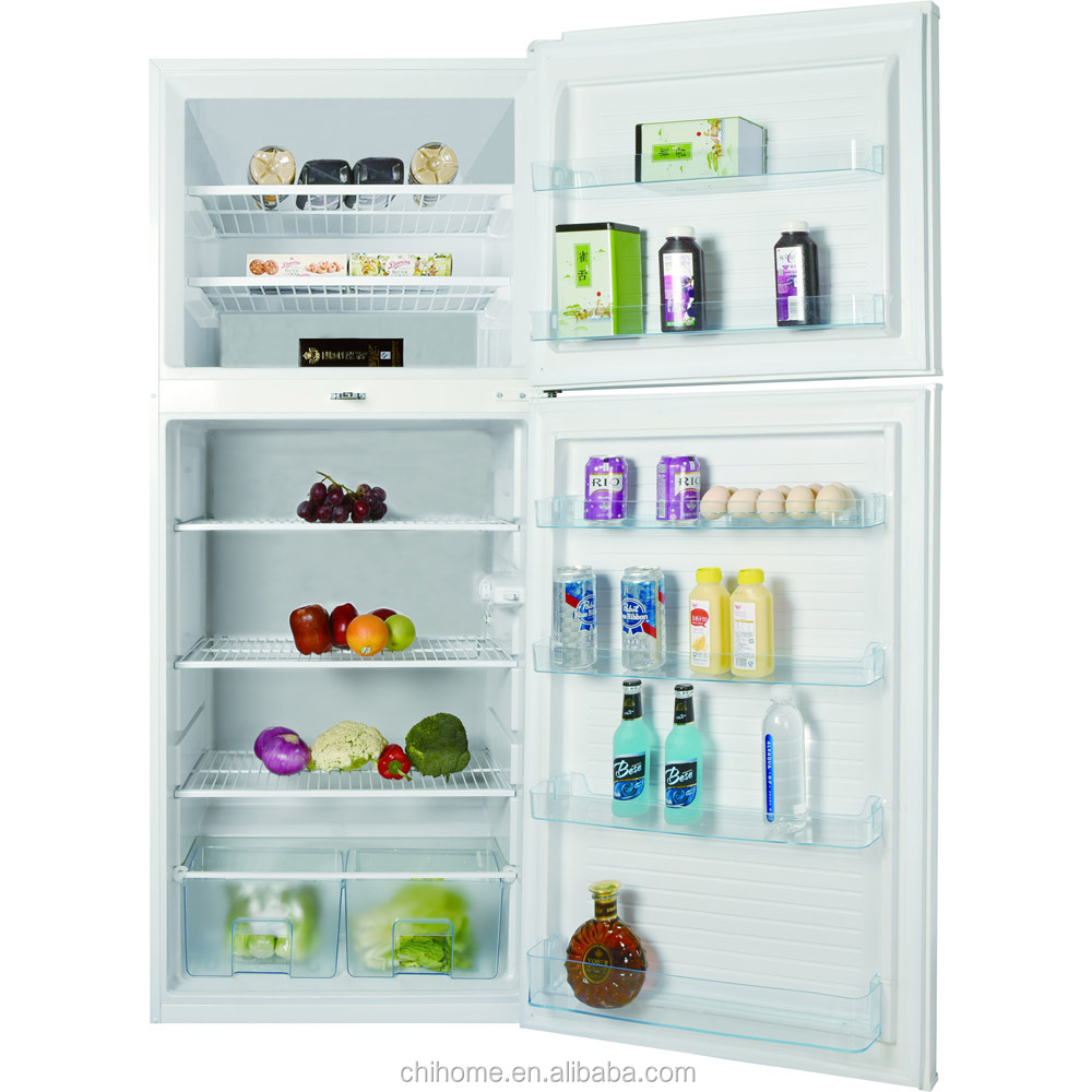 Natural Gas Home Appliance 410l Double Door Refrigerator With Wire ...