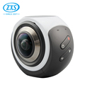360 action camera Virtual Reality Dual Lens action camera real 360 camera 720A