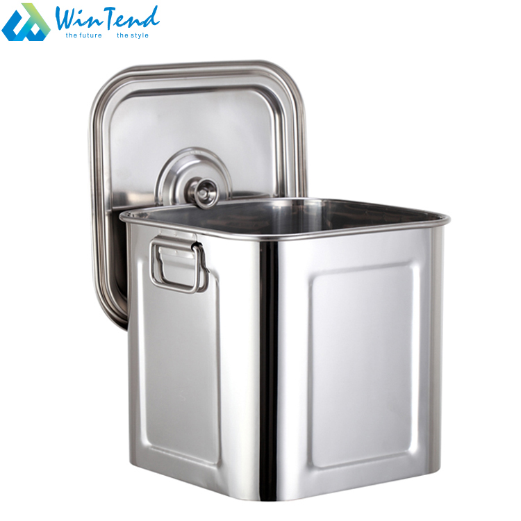 Great Certified Large Stainless Steel Bulk Food Storage Container