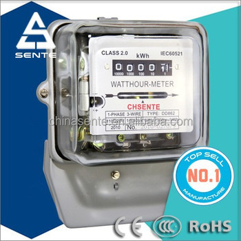 New Top Oem Dd862 Single Phase Two Wire Electric Meter Price - Buy Electric  Meter Price,Single Phase Electric Meter Price,Dd862 Single Phase Electric
