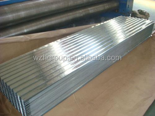 Shelter / shed roof and wall use galvanized sheet metal corrugated