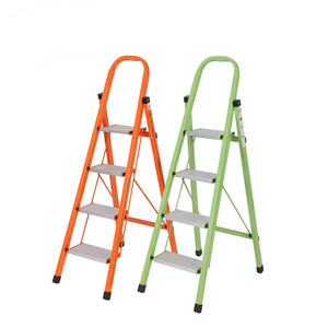 portable A shape Aluminium folding step ladder with handle