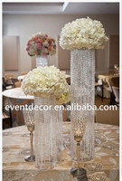 Crystal Wedding Centerpiece without Crystal Base for Decoration