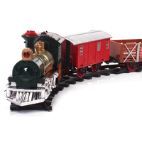 Musical Railcar Series Track Toys Battery Operated Toy Train for kids