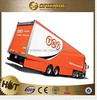 4 Axles 80t-100ton Flat Bed Lowbed Semi Truck Trailer / Lowboy Chassis Trailers , truck trailer rear lights led