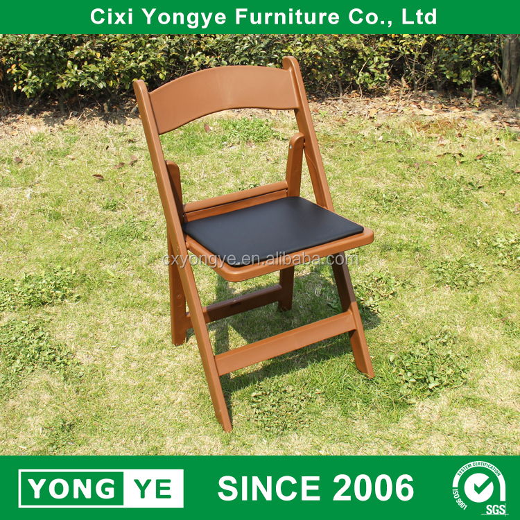 high quality wedding hire parlor resin folding modern chairs