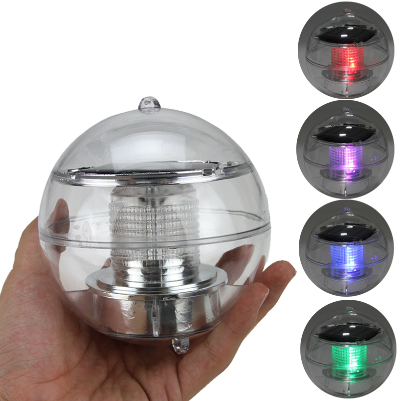 CE&ROHS Solar Floating pond ball <strong>light</strong> floating pond <strong>lights</strong>