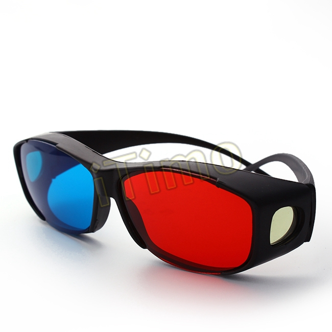 df41bb8f30 Get Quotations · New Hot Universal Red And Blue Color 3D Glasses TV Movie  Dimensional Anaglyph Video 3D Vision