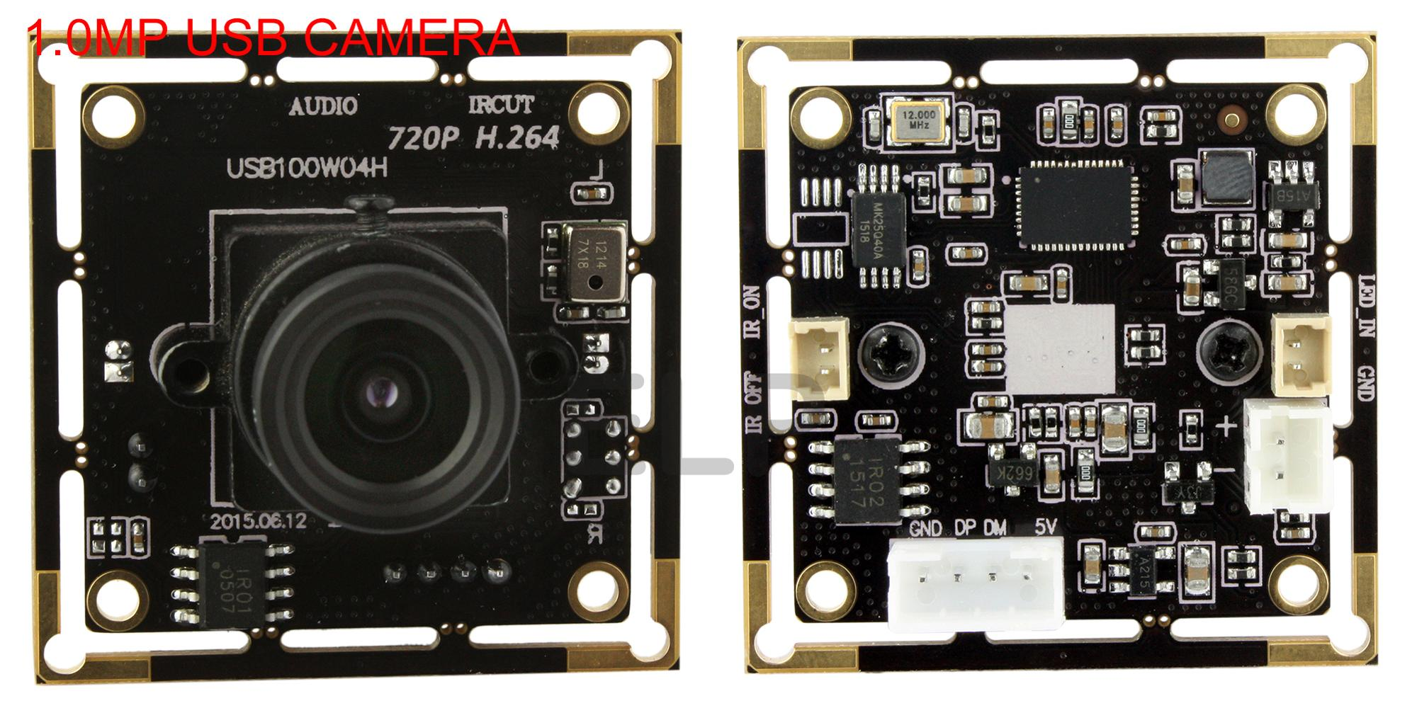 ELP Free Driver 1.0megapixels Webcam Microphone Support OTG Full HD CMOS H.264 Mobile Phone Camera Module
