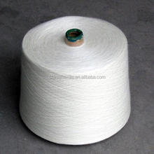 30S recycled 100% polyester spun yarn manufacturer in good price and quality