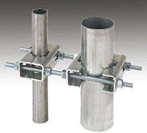 Ambient Weather EZ-HD-PTP Heavy Duty Mast to Mast Mounting Kit
