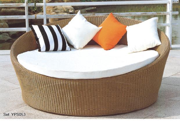 Cheap Garden Outdoor Furniture Hotel Resort round Sofa Bed - Cheap Garden Outdoor Furniture Hotel Resort Round Sofa Bed - Buy