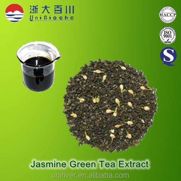 Jasmine tea extract for food and beverage with fresh jasmine flower aroma