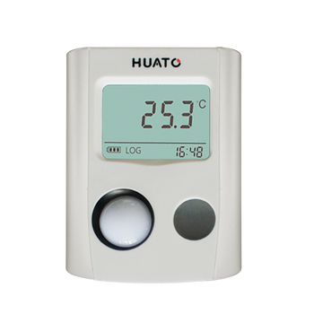 Plastic strip thermometer