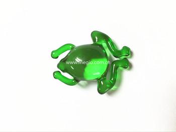 Forma di rana olio da bagno perlina forma di animale bagno olio