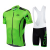 Green Team Cycling Clothing For Men Dye Sublimation Printing Islamic Cycling Clothing Manufacture