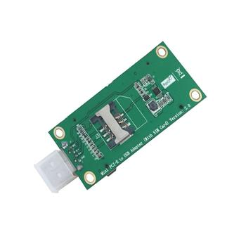 Hotsale !! Mini PCI to USB Adapter Card With SIM Card Slot Test Module
