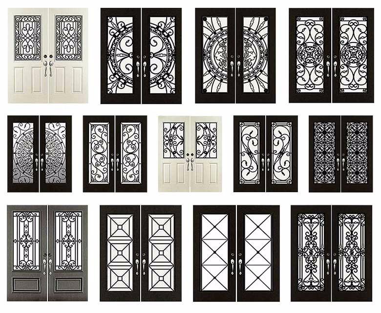 Cast Iron Modern Wrought Iron Doors Frame Mexico Buy