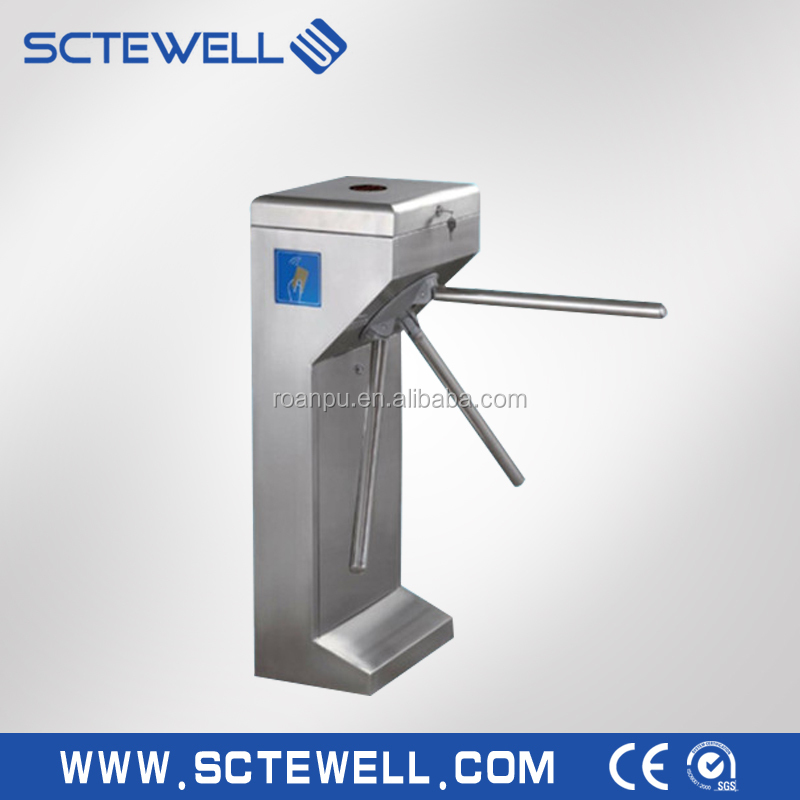 Automatic Vertical Tripod Turnstile Gate Security Gate Access Control System
