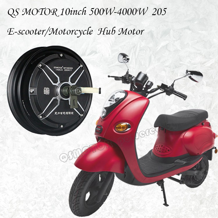 10inch 3000W 205 50H V3 48V brushless dc electric scooter motorcycle hub <strong>motor</strong>