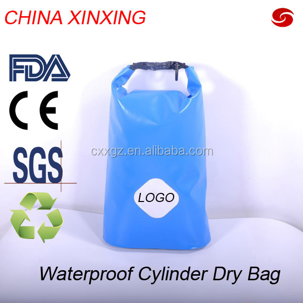 CHINA XINXING WATERPROOF HIGH PERFORMANCE 420D TPU CYLINDER DRY BAG DUFFEL BAG