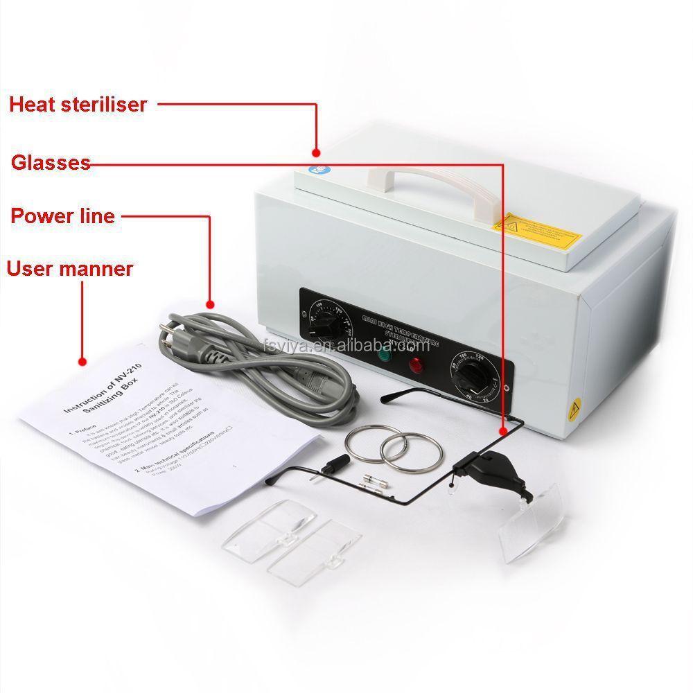 VY-210 Portable Efficient Durable Tools Uv Sterilizer Box For Hair Nail Salon Equipment