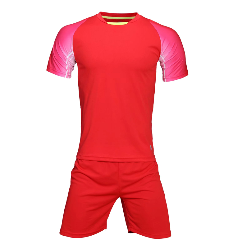 Wholesale Top Quality Soccer Uniform Adult Jersey