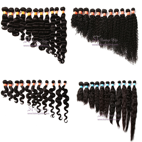Guangzhou factory wholesale different types of curly weave hair import mongolian human hair weaving