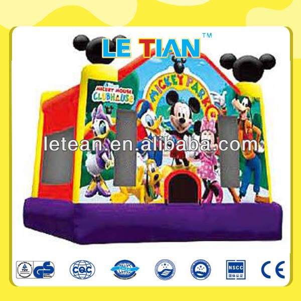 Cartoon design funny inflatable castle mickey mouse LT-2131A