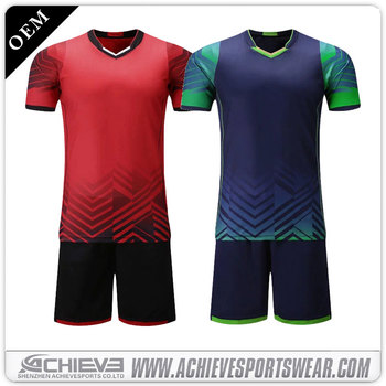 dd8e22fc4 thai quality cheap wholesale soccer uniform, customized soccer jersey with  collar wholesale soccer team wear