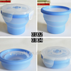 Silicone foldable travel cup,outdoor cup,portable silicone cup with lid