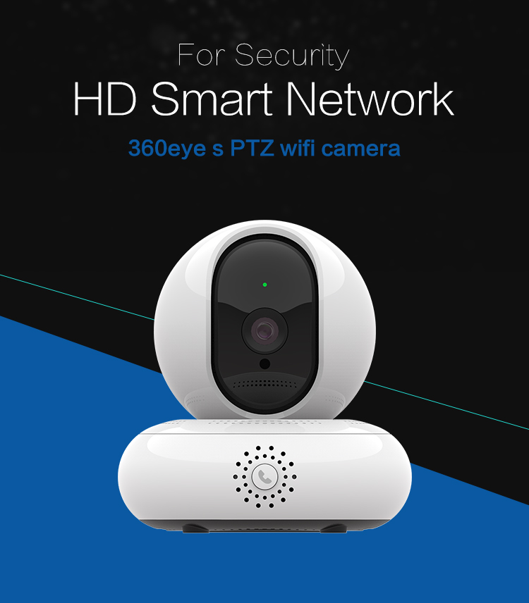 IGreenView easy reverse call HD PT camera PTZ wide view angle surveillance camera smart baby monitor