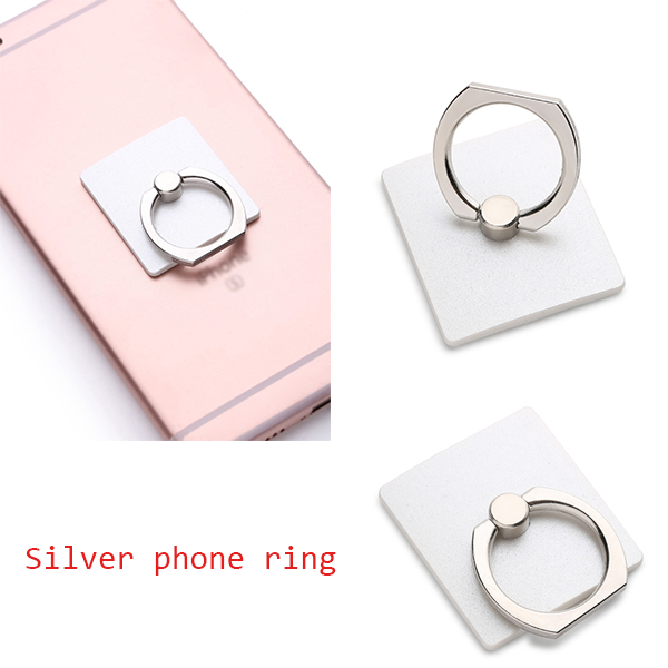 Hand phone accessories smart phone grip finger ring holder with colorful printing