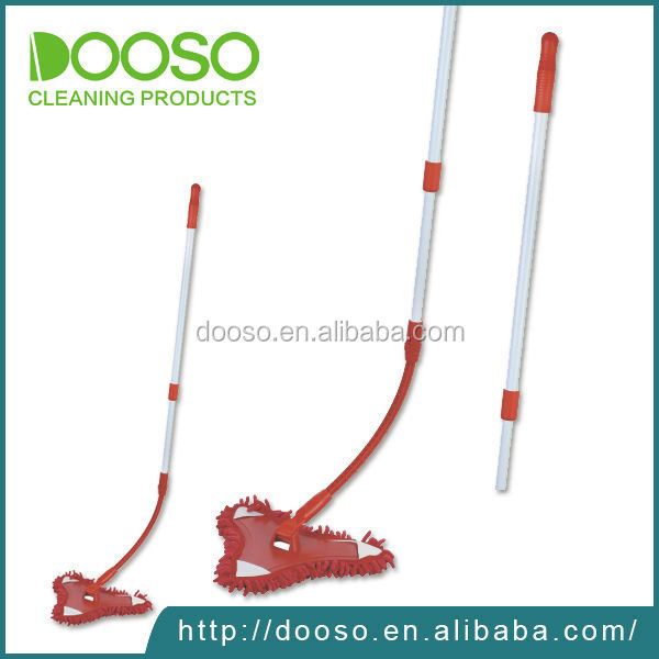 2017 alibaba red bendable flat mop
