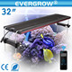 Evergrow it5080 48inch thunder storm led aquarium light for saltwater reef tank