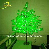 Gold supplier RS-TL105 paper mache christmas tree