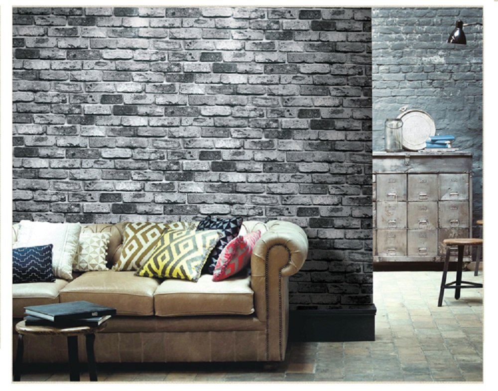 Wallpapers 3d Pvc Stone Brick Wall Paper Waterproof Modern Living Room Kitchen Vinyl Wall Mural Wallpaper Wall Covering Papel De Parede 3d Online Discount Home Improvement