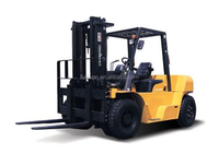 Quick delivery 83kw Lonking 5 ton capacity 8 ton selfweight forklift