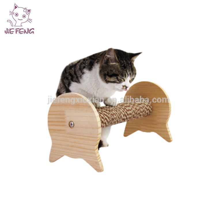 As picture color eco-friendly reasonable price good selling wooden cat toy