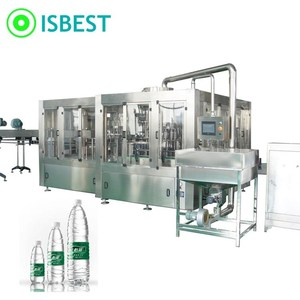 Low cost automatic 3in1 small water bottling machine, mineral water filling plant