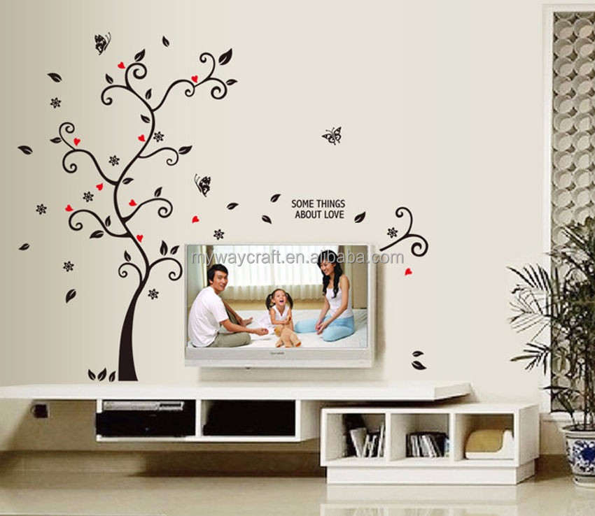 DIY Art Wall Decal Room Decor Stickers Vinyl Removable Paper Mural Love Tree Photo Wall