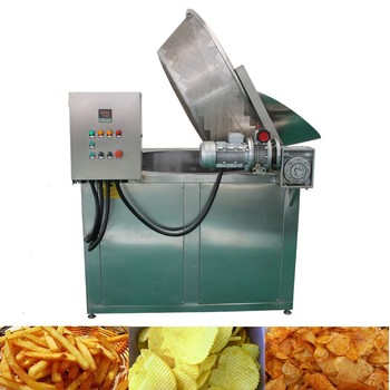 SUS 304 stainless steel banana chips deep fryer