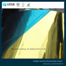Polished color coated Aluminium Mirror sheet in coil for decoration aluminium per kg