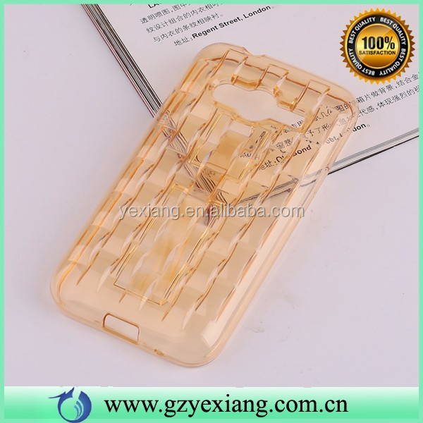 Cheap Price Gel Silicone Case For Samsung Galaxy Ace 4 G313 Transparent Covers