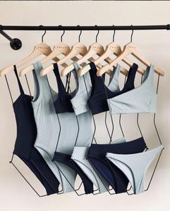 Custom Ladies Wooden Swimwear Body Hanger Bikini Hanger for display