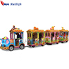Amusement park equipment animal model battery operated sightseeing train elephant electric tourist train
