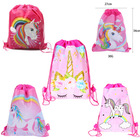 Unicorn Drawstring Party Bag Birthday Unicorn Party Supplies Party Favors Unicorn Kids Backpacks Bags