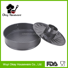 OKAY BK-D2044 jinhua pan Carbon steel chimney cake bakeware