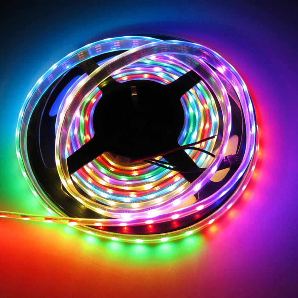 2019 Newest DC12V Customized Strip Lighting 5050 RGBW 4-in-1 Chip RGB+ White Flexible LED Strip Lights