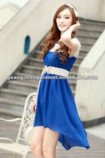 Платья по корейским стиле